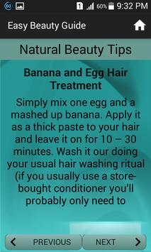 Easy Beauty Guide apk screenshot