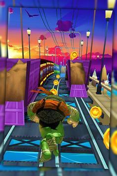 Ninja Run Turtle Jump screenshot 1