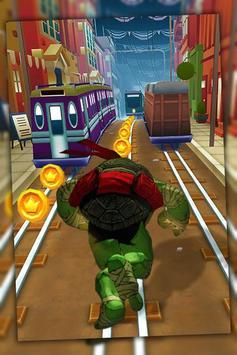 Ninja Run Turtle Jump screenshot 2