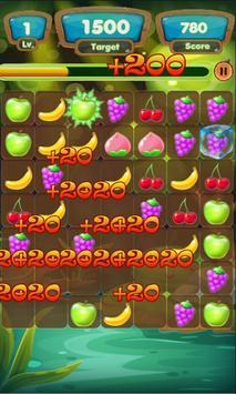Crazy Fruit Swap apk screenshot
