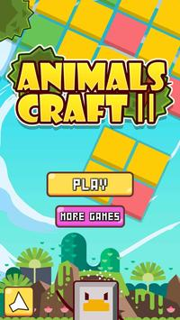 Animals CraftⅡ poster