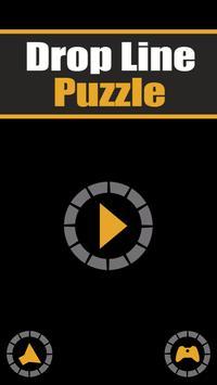 Drop Line Puzzle poster