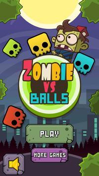 Zombie VS Balls poster