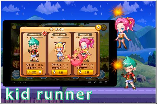 Final Crazy kid Runner apk screenshot