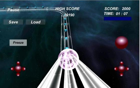 NebulaRail 3D Ball New apk screenshot