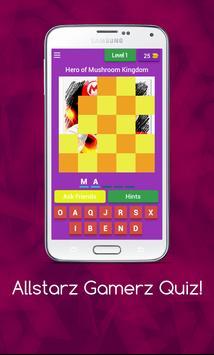 Allstarz Gamerz Quiz screenshot 1