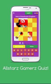 Allstarz Gamerz Quiz screenshot 2