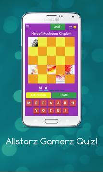 Allstarz Gamerz Quiz screenshot 3