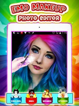 Emo Makeup Photo Editor screenshot 4