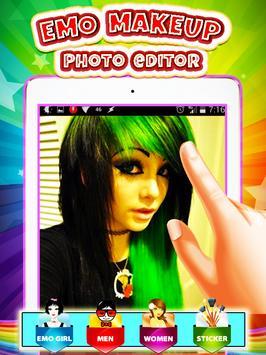 Emo Makeup Photo Editor screenshot 1