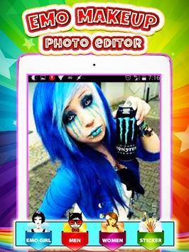Emo Makeup Photo Editor screenshot 3