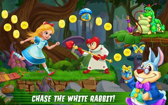 Alice in Wonderland Rush poster