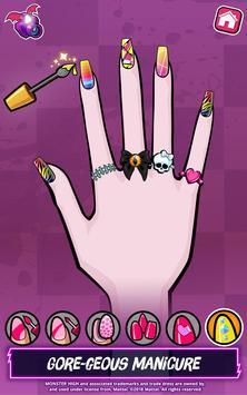 Monster High™ Beauty Shop: Fangtastic Fashion Game screenshot 12