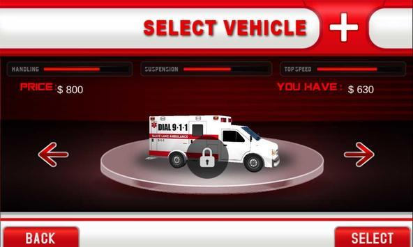 Crazy Ambulance Driver apk screenshot