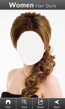 Women hair styles screenshot 3
