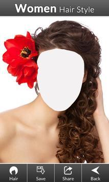 Women hair styles screenshot 2