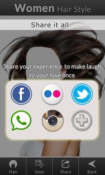 Women hair styles screenshot 4