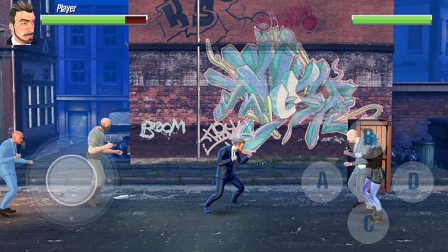 Mafia Fights - 3D Street Fighting Game poster