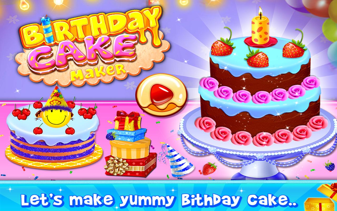 Magnificent Birthday Cake Maker Dessert Cooking Games For Android Apk Download Funny Birthday Cards Online Eattedamsfinfo