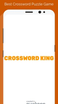 Crossword King Word Puzzle poster