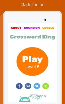 Crossword King Word Puzzle apk screenshot