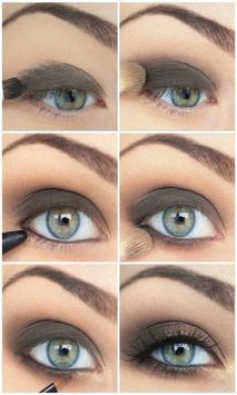 Eye Makeup Steps poster