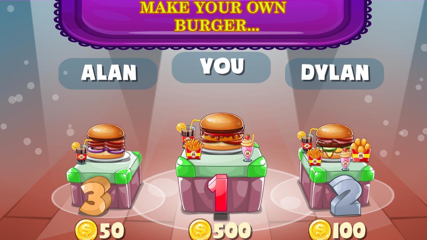 Mi Hamburguesa Cocina Cocinero Juego For Android Apk Download