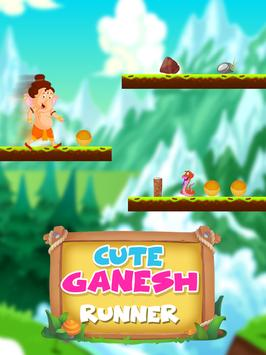 Cute Ganesh Runner - Running Game apk screenshot