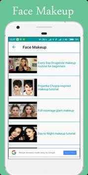 Makeup Tutorial Videos screenshot 3
