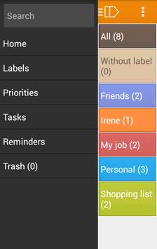 LabelToDo Todo lists and more screenshot 2