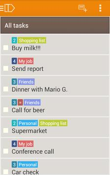 LabelToDo Todo lists and more screenshot 4