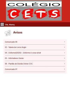 Colégio CETS screenshot 12