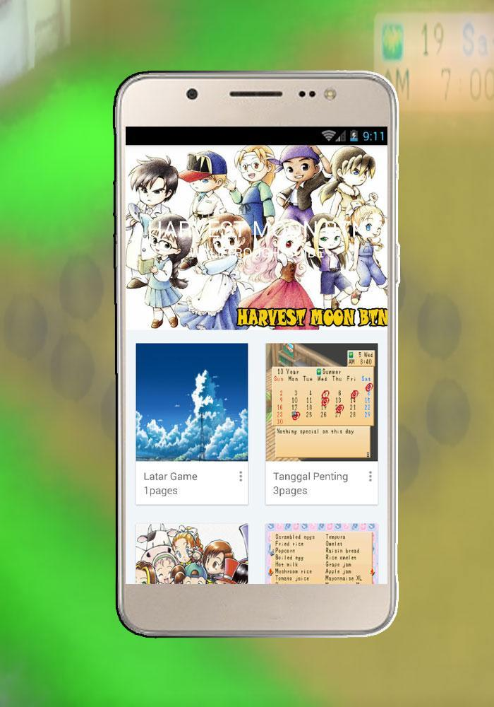Walktrough For Harvest Moon BTN Bahasa Indonesia for Android