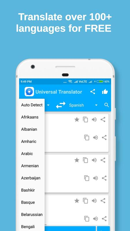 Universal translator pro for android apk download.