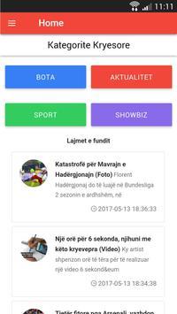 Lajme Shqip screenshot 1