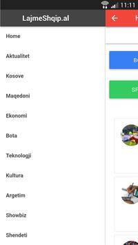 Lajme Shqip screenshot 2