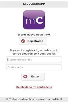 miColegioApp apk screenshot