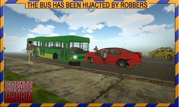 Bus Driving & Robbers Getaway poster