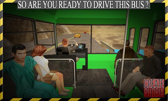 Dangerous Mountain Bus Driving apk screenshot