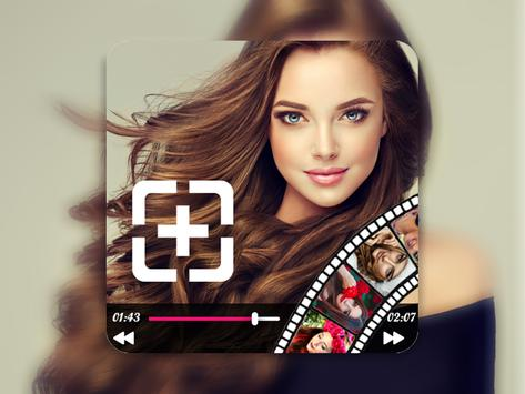 create video photo slideshow with music poster