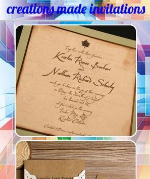 creations made invitations screenshot 7