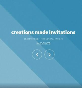 creations made invitations screenshot 4