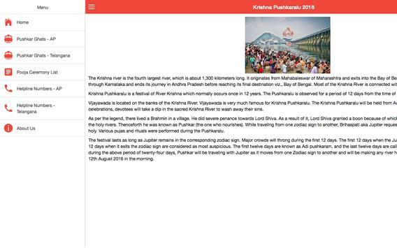 Guide for Krishna Pushkaralu screenshot 4