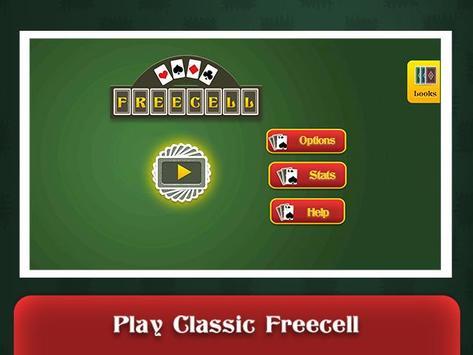 FreeCell Online apk screenshot