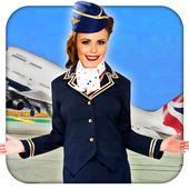 Air Hostess - Flight Attendants Simulator icon