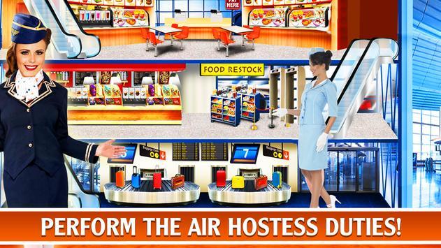 Air Hostess - Flight Attendants Simulator screenshot 9