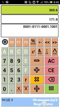 Debihex Programmers Calculator apk screenshot