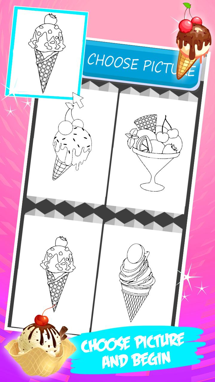 Ice Cream Coloring Book For Android Apk Download