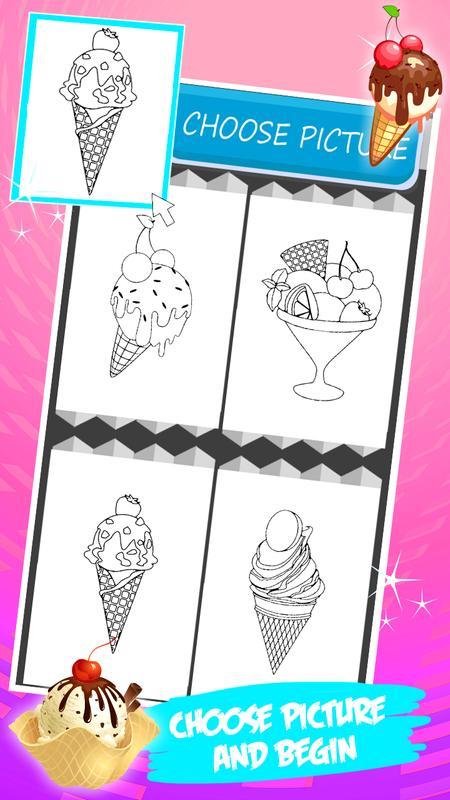 Colorear helado Descarga APK - Gratis Entretenimiento Aplicación ...