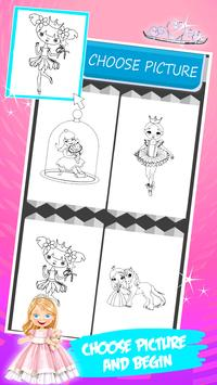 Little Princess Coloring Book Apk Screenshot